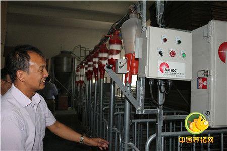 中国种猪营销创新联盟团队受邀参观天津三友机械制造有限公司