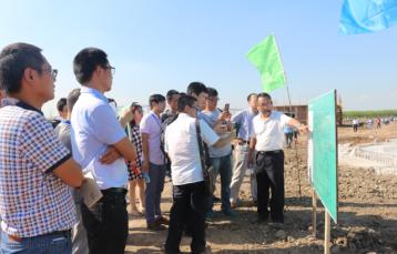 参观天津市津港天兆畜牧科技有限公司