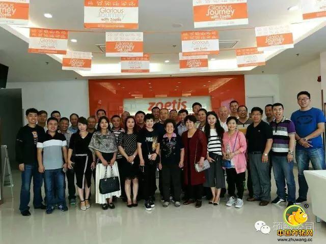黑龙江吉林家禽重点客户参观硕腾苏州工厂和上海办公室座谈