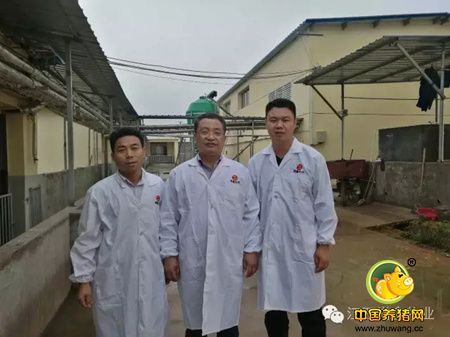 新余市渝水区委书记何慕良一行调研增鑫生态示范猪场
