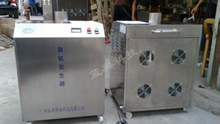 养猪场消毒新方法,除味消毒用臭氧发生器