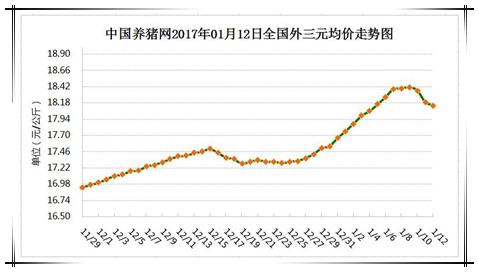 1月12日猪评:距春节仅剩半个月时间,猪价下跌空间不会大