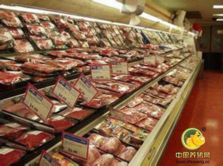 建现代化养猪场开新鲜猪肉超市 乡下养猪 场镇开店