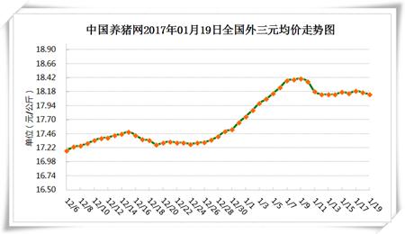 1月19日猪评:消费未出现明显提升 猪价上涨仍缺乏动力