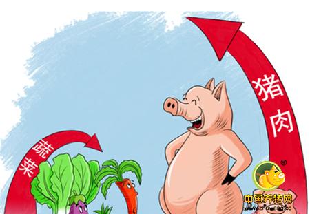 生猪价格走势:存栏减少导致猪源偏紧,利好后期猪价!
