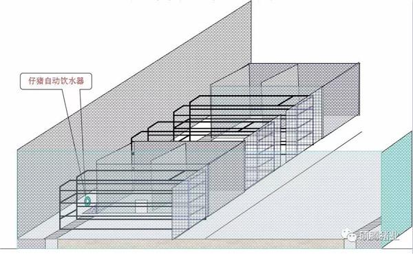 猪舍整体布局设计图(细节尺寸图纸) - 养猪场建设