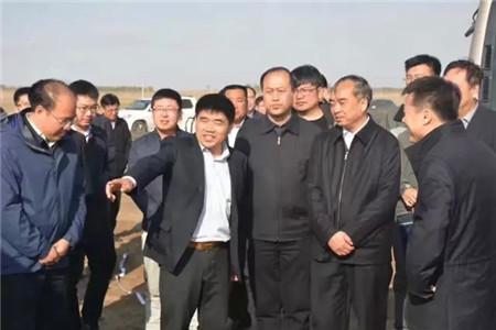 吉林省常务副省长林武到松原德康家庭农场考察