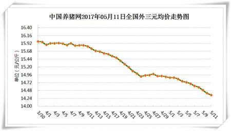 5月11日猪评:广东猪价全国最高 新疆继续垫底