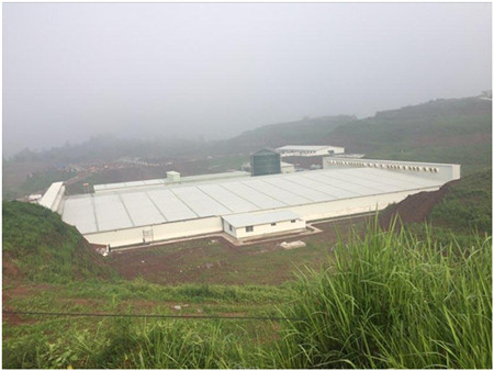 武胜天兆中心种猪场一期正式投产