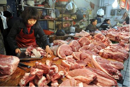 锡城猪肉价格今年一降再降,行情惨淡,养殖户叫苦!