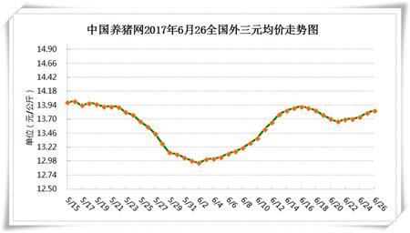 6月26日猪评:降雨带来重大利好!养殖户切莫错过好时机