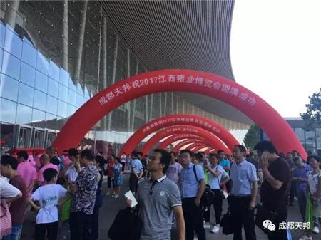 """""""无泻问后""""""""与蓝共舞""""登陆江西猪业博览会"""