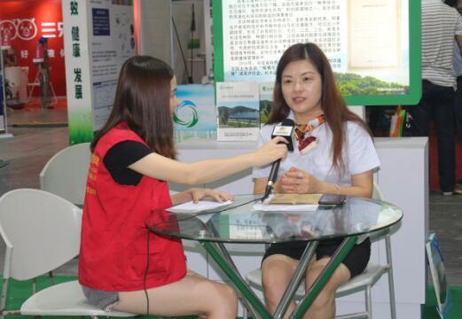 2017江西猪博会中国养猪网专访丰泽农牧总经理助理陈云
