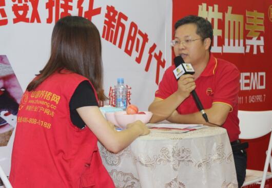 2017江西猪博会中国养猪网专访广州三行生物董事长刘平祥