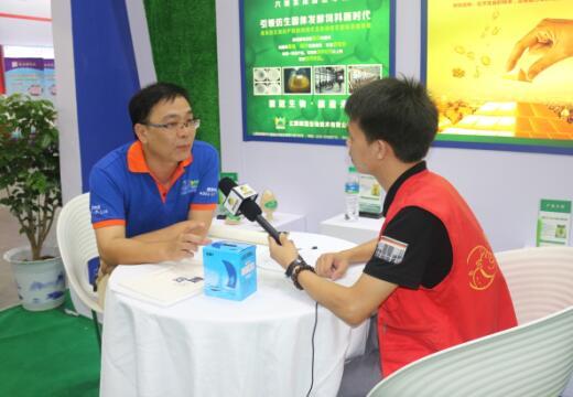 2017江西猪博会中国养猪网专访微冠生物营销总经理涂郯明