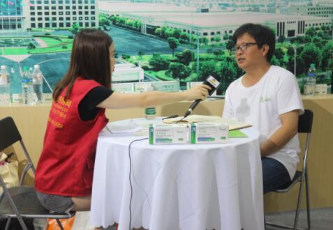2017江西猪博会中国养猪网专访东方帝维销售总监谈朝华