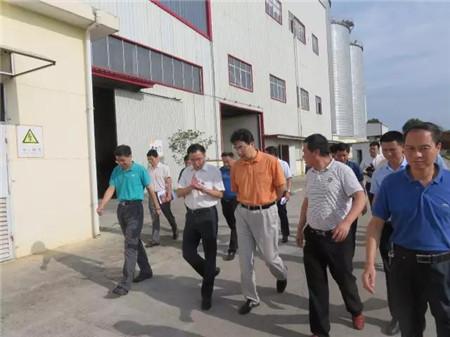 国家发改委就业司调研指导吉安傲农返乡创业企业工作