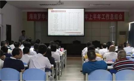 【新闻快讯】罗牛山股份有限公司各版块上半年总结会议圆满结束