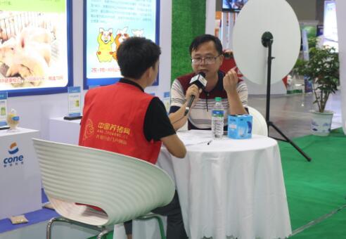 2017江西猪博会亿万先生手机版专访柯恩牧业营销中心总经理钟士滨