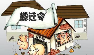 """7000余头生猪""""搬家"""" """"四步走""""让整改治标更治本"""