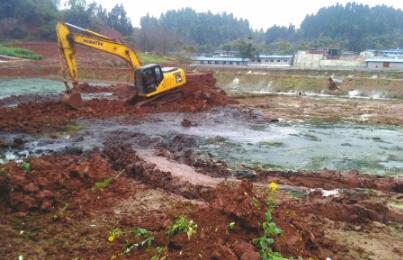 25栋猪场厂房圈舍因污染被拆除!连土也挖走!