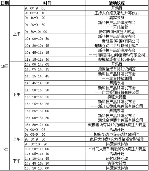 """2017猪业展览会之""""规模猪场科技嘉年华""""活动通知(第三轮)"""