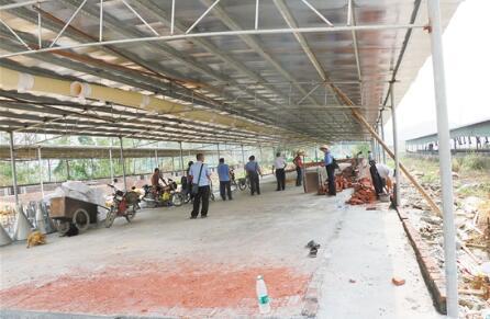 广东棠下两猪场被断水电,一年之内拒整改