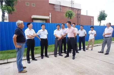 近期,罗牛山股份有限公司成立以总裁钟金雄为组长、副总裁柳旺元为副组长的环保专项巡查组,到海口罗牛山农产品加工产业园