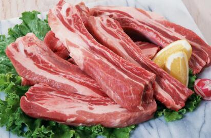2017年9月10日全国各省市猪白条肉价格行情走势