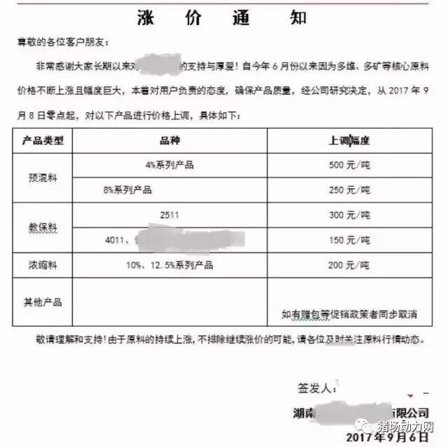 猪价今日现转机!但大北农、嘉吉等饲料已涨500-1000元
