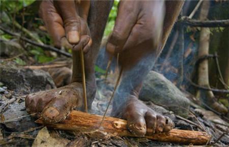 巴族人很爱猪,女人、孩子和猪住在同一个屋子里,跟猪躺一块。
