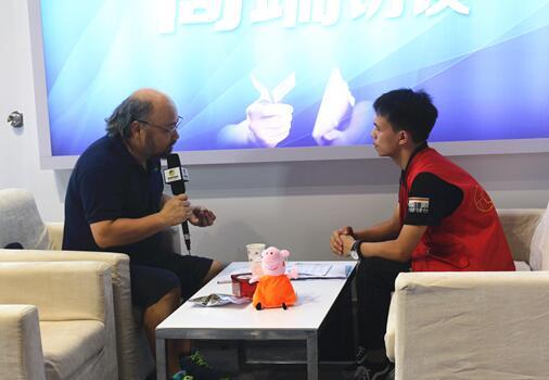 2017猪业展览会中国养猪网专访生物源生物技术(深圳)股份有限公司董事长胡文锋博士