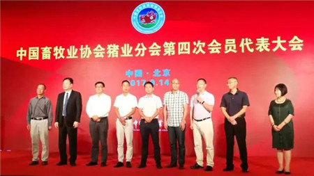 王德根董事长当选中国畜牧业协会猪业分会会长