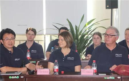 澳大利亚马可思·奥翰学院来特驱参观访问