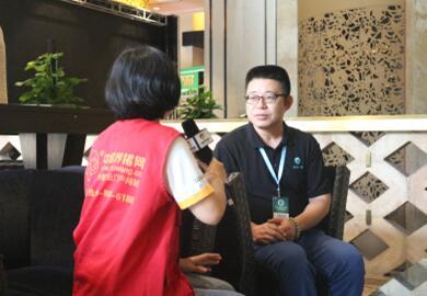 yzc888亚洲城专访江苏恒丰强生物技术有限公司销售总监姚余斌