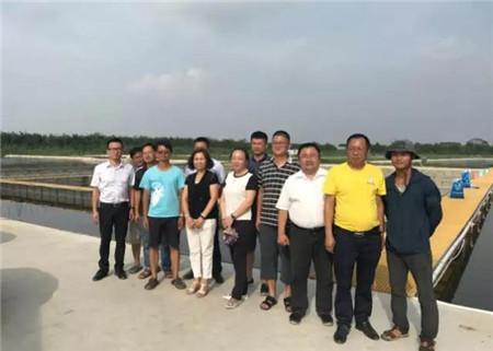 2017年7月10日—13日,通威股份总裁助理刘辉芬、技术中心办公室主任干玉琼、华东战区技术总监