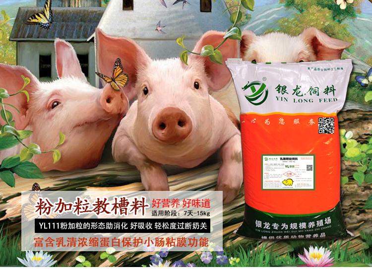 小猪吃哪种教槽料不拉稀