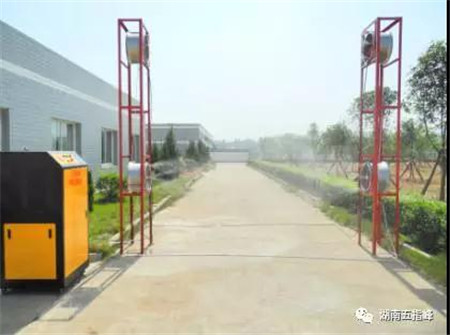 五指峰新技术:WZF-08NM型消毒通道 — 一种新型农用车辆消毒系统的应用