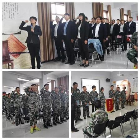 2017年10月19日,河南省新大牧业股份有限公司本年度第四期新员工入职培训再次扬帆起航,29名学员在雨后齐聚伊川县平等乡家庭农场事业二部