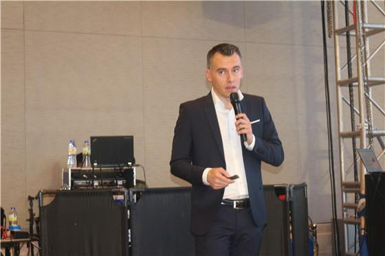 荷兰皇家帝斯曼集团全球摄生素产品经理 Antoine Meuter