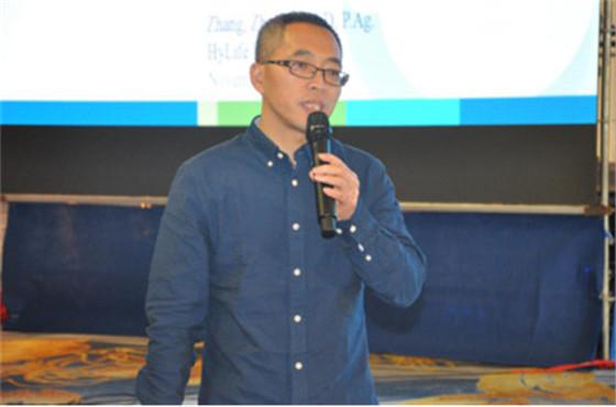加拿大Hylife养猪公司营养师天兆猪业总营养师 张振斌博士