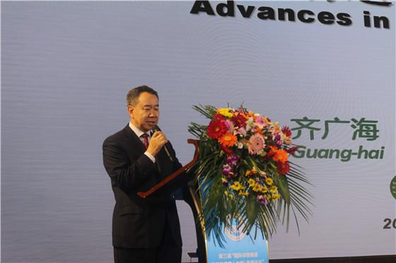 中国农业科学院饲料研究所所长 齐广海研究员
