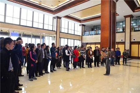 梧州市长洲、万秀区组织部到扬翔公司视察非公党建活动