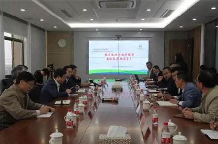 宁波市副市长陈仲朝、海曙区委副书记褚孟形等领导来宁波三生调研