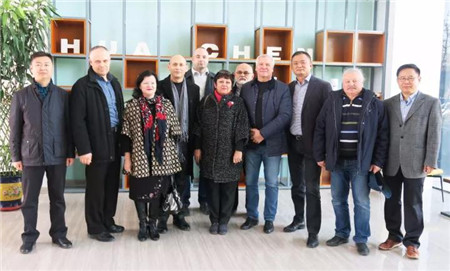 热烈欢迎俄罗斯普罗特维诺市议长、市长一行莅临华辰制药参观考察