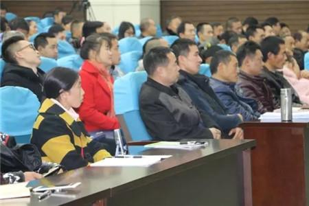 培育新型农民是科信公司应尽之责 张洪培教授为隆昌市新型农民培育培训班授课