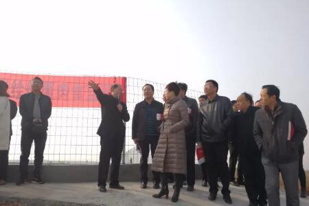 """新大牧业""""1248""""种养结合扶贫模式获宜阳县委县政府相关部门领导充分认可及肯定"""