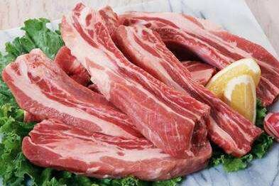 2017年12月6日全国各省市猪白条肉价格行情走势