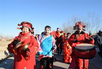 杭后第二届民间年猪文化节真红火