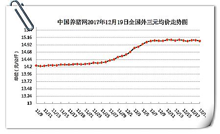12月19日猪评:猪价稳中下调 助力因素能否带动新一轮上涨